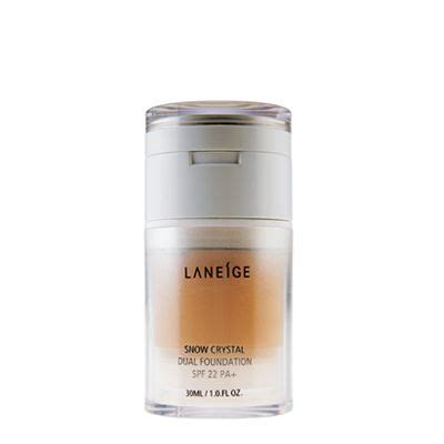 Harga Laneige Snow Cristal Dual Foundation laneige laneige snow dual foundation reviews