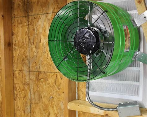 A Guide to Installing Wall Exhaust Fan for Garage