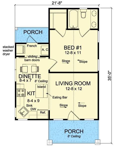 budget bungalow 21977dr 1st floor master suite cad 161 best houses 501 1199 sq ft images on pinterest