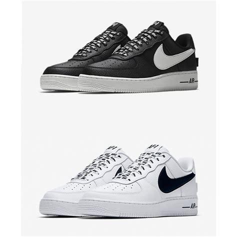 Nike Air One1 scarpe nike air one 1 low 07 nba white black sneaker