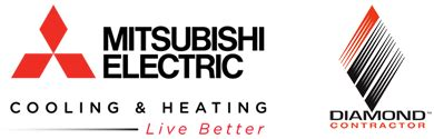 mitsubishi heating and cooling dealers pfo heating air conditioning in princeton hamilton nj