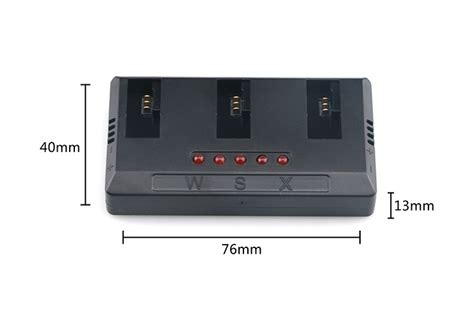Saver Hk Tarik 3in 1 Usb 1 to 5 charger for hubsan h107c h107d h107c h107d quadcopter wsx x5 plus