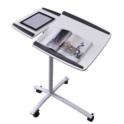 Laptop Desk White Sixbros Laptop Table Notebook Desk Adjustable White B 001n 2078