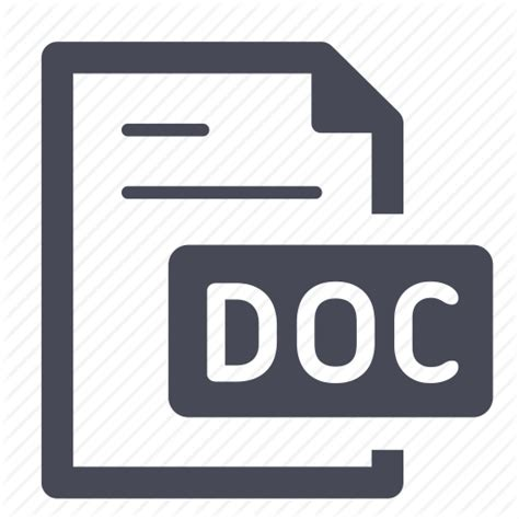 document docx file office text word icon