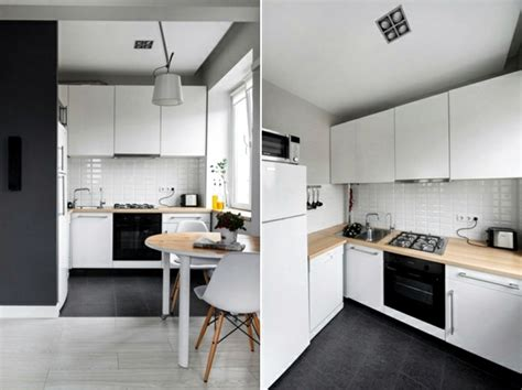 Small Kitchen Color Ideas small apartment in a scandinavian style of life and