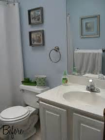 small bathroom makeover ideas blah to beautiful bathroom makeover on a budget home