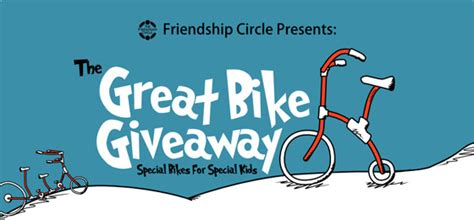 Great Bike Giveaway - special needs causes the great bike giveaway fighting for answers