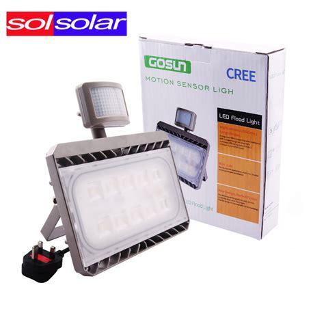 cree flood light cree led pir floodlight motion sensor flood light 30w 50w