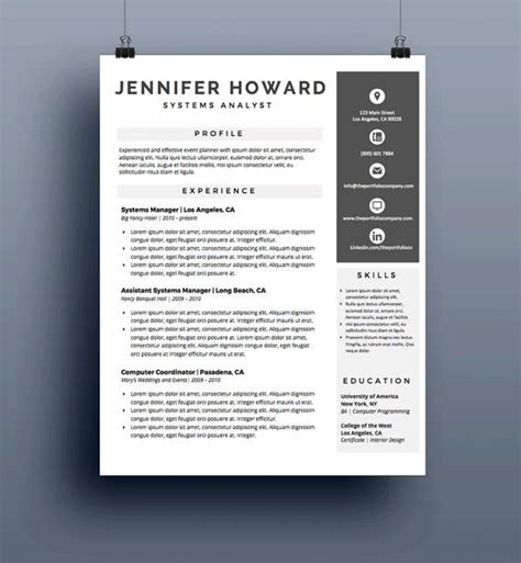 graphic design resume templates for mac 12 best graphic designer resume images on resume design graphic designer resume and