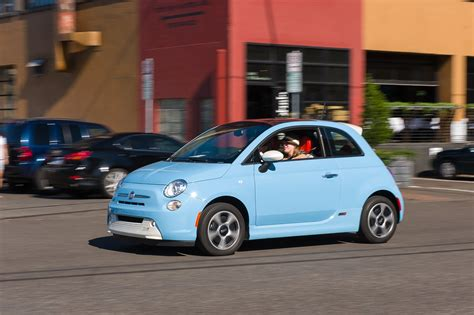 fiat 500e reviews 2015 fiat 500e review test drive
