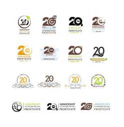 anniversary colors best 25 anniversary logo ideas on birthday