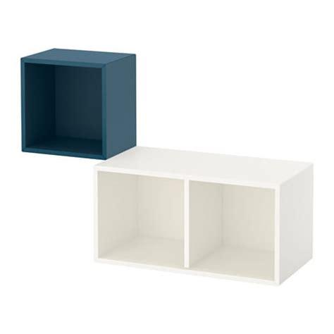 ikea eket review eket wall mounted cabinet combination dark blue white ikea