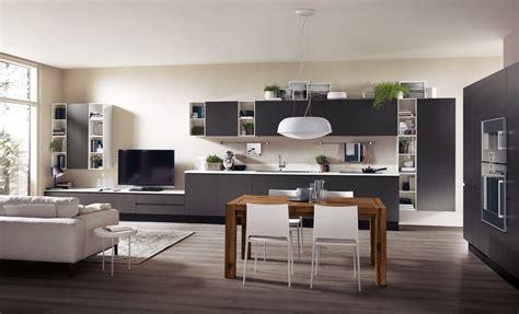 cucine per loft cucine a vista per il loft nel soggiorno open space