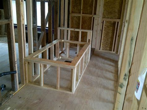 framing for a bathtub an old familiar friend green button homes