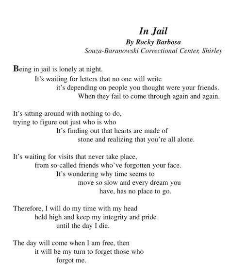 poems for husband in prison poems for him in in a prisoner s poem