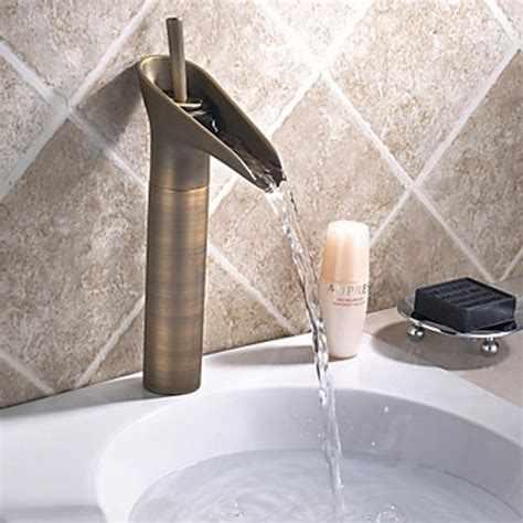 vintage faucets bathroom vintage style antique brass tall bathroom sink faucet faucetsuperdeal com