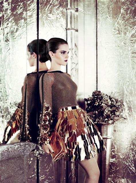 Emma Watson Vogue 2011 | kristen stewart vs emma watson images vogue 2011 hd