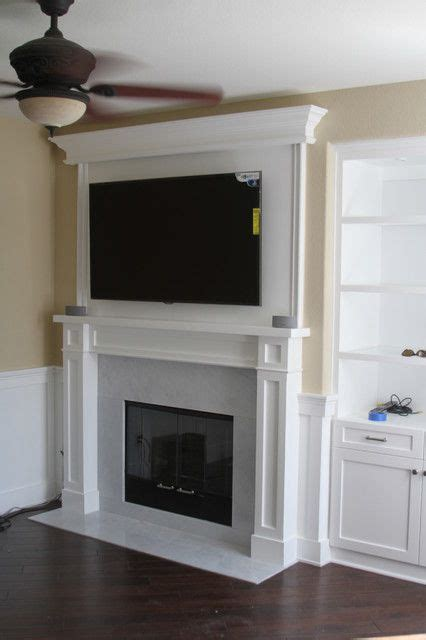 fireplace basement ideas diy