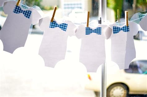 Bow Tie Baby Shower Centerpieces by Kara S Ideas Bow Tie Baby Shower Planning