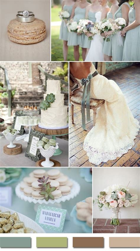 10 most popular wedding color schemes on