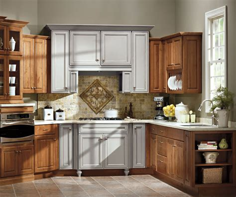 schrock kitchen cabinets alder kitchen cabinets with painted accents schrock