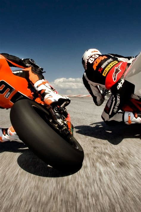 ktm bikes racing iphone  wallpaper