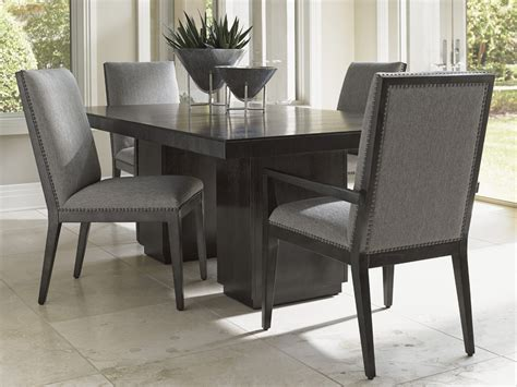 double pedestal dining room tables carrera modena double pedestal dining table lexington