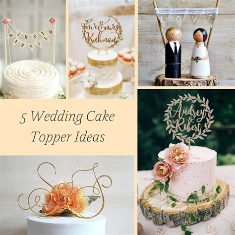5 Wedding Cake Topper Ideas » Hill City Bride   Virginia