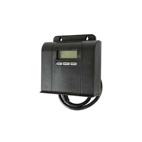Setting Outdoor Light Timer Woods 15 Outdoor In Daily Block Heater Dual Outlet Digital Timer Black 50016 The