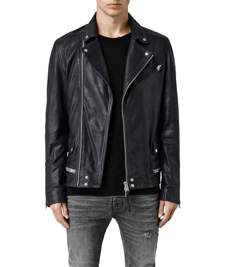 biker jacket leather motorcycle jackets for men stint leather biker