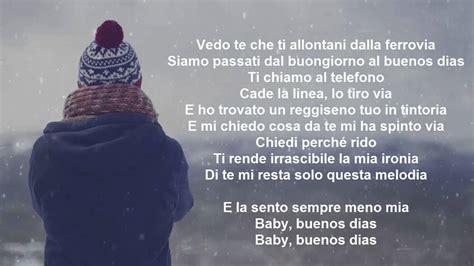 fred de palma lucchetti testo fred de palma buenos dias lyrics testo