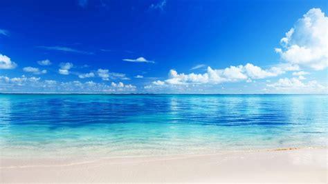 azure ocean beach clouds sky linkedin banner image
