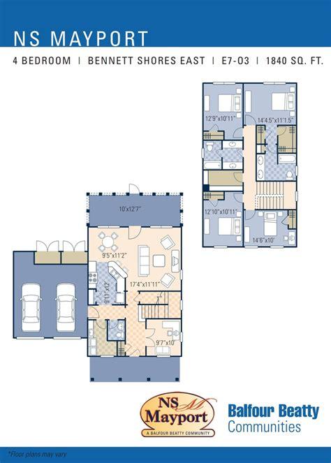 shores floor plan ns mayport shores east neighborhood 4 bedroom home floor plan ns mayport fl