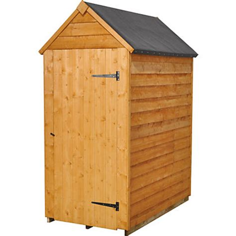 Homebase Sheds by Forest Value Shed 3ft X 5ft At Homebase Be Inspired