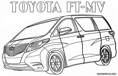 page toyota toyota coloring pages coloring pages to and print
