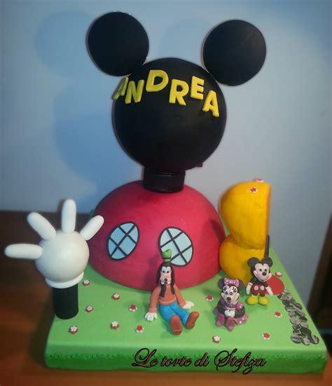 casa topolino la casa di topolino torte decorate in pasta di zucchero