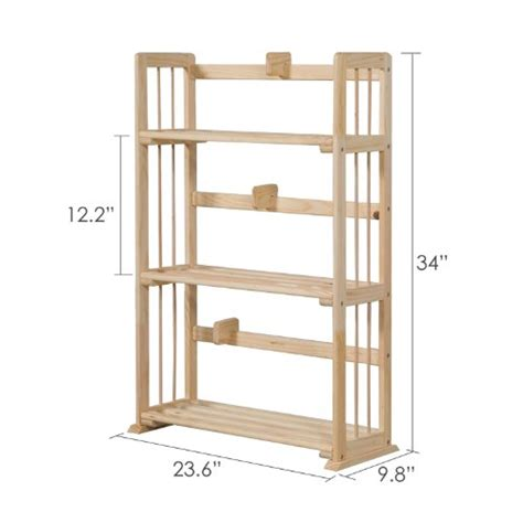 furinno 3 tier bookcase furinno fncl 33001 pine solid wood 3 tier bookshelf