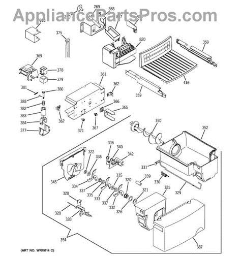 ge appliances parts diagrams refrigerator parts ge refrigerator parts diagram ge appliance