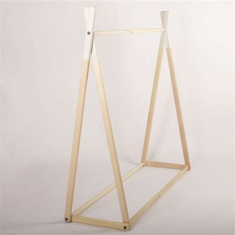 How To Build A Clothes Rack With Wood by White Alright Clothes Rack Clothes Racks