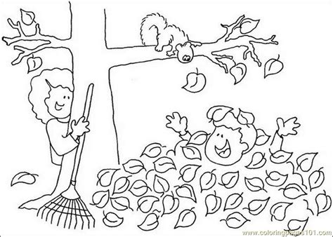 Coloring Pages Fall Tree Leaf Natural World Gt Autumn Free Fall Coloring Pages For