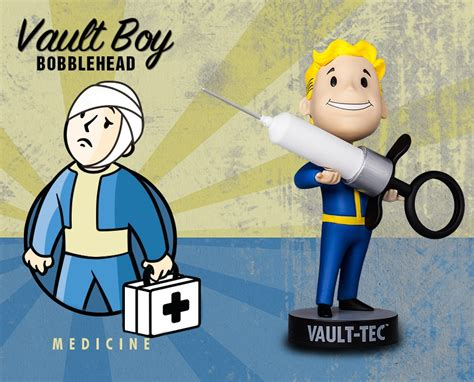 fallout 1 bobbleheads fallout vault boy bobbleheads serie 3 medicine