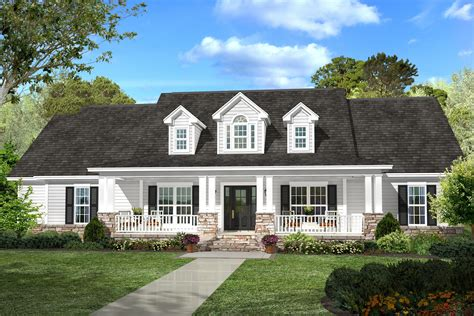 Split Floor Plan country house plan 142 1131 4 bedrm 2420 sq ft home