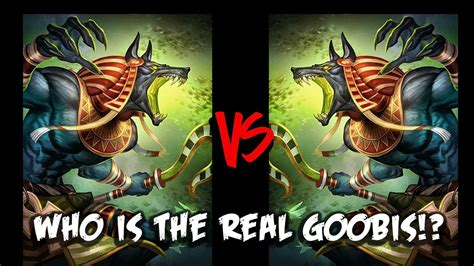 Is This The Real anubis vs anubis who is the real goobis