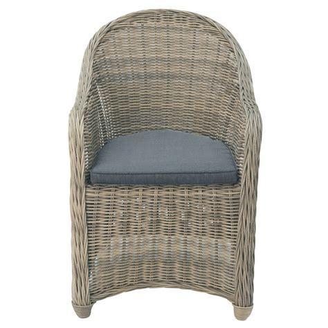 fauteuil jardin resine tressee fauteuil de jardin en r 233 sine tress 233 e st rapha 235 l maisons du monde