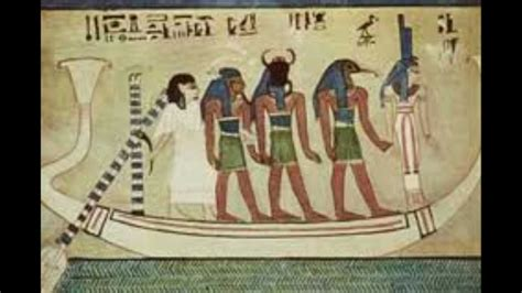 egyptian soul boat journey of souls isis and the boat of amun ra from the
