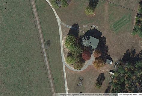 walking dead filming locations map hershel s farm from the walking dead