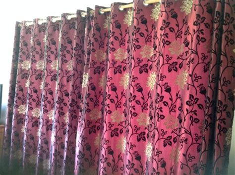 black and gold eyelet curtains red black and gold eyelet curtains 2 pairs for sale in