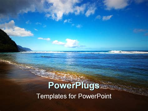hawaiian powerpoint template free hawaiian powerpoint template