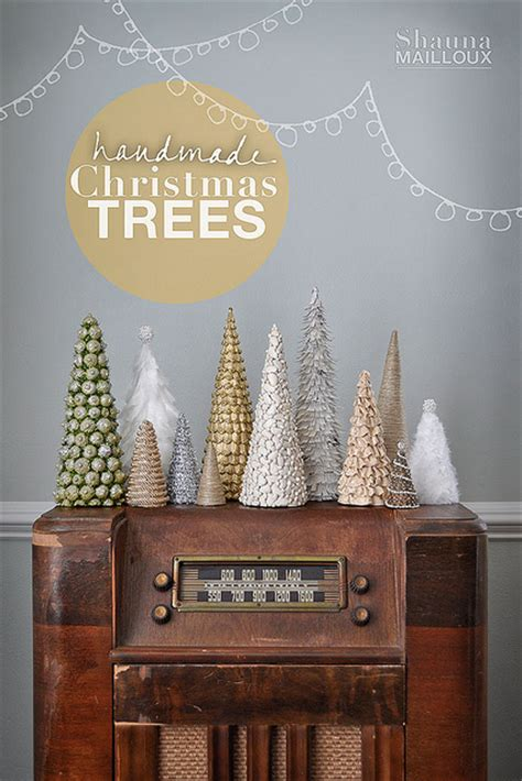 Handmade Tree Decorations Ideas - 30 handmade trees