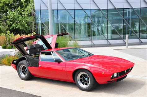 What Goes With Grey Mint Condition 1969 De Tomaso Mangusta Goes Under The